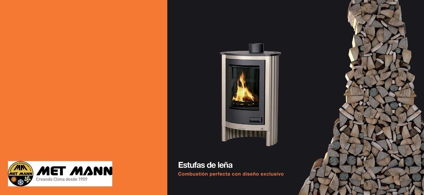 Met mann catalogindustry news for Estufas de lena de diseno